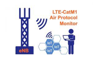 LTE-CatM1エアプロトコルモニター/ソフトウェアデコーダー