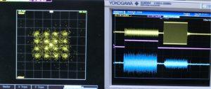 16QAMコンスタレーション、TDD動作波形